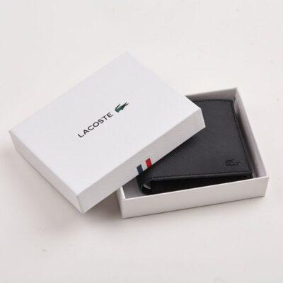 Πορτοφόλι Piqué Lacoste NH2308HC Μαύρο