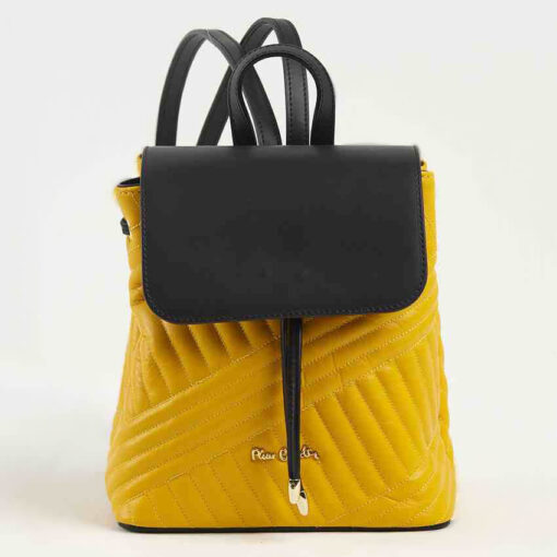 Backpack-Pierre-Cardin-Cruise-Yellow-Black