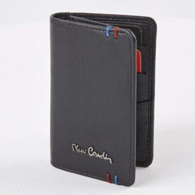 Δερμάτινη Καρτοθήκη RFID Pierre Cardin Chazz Μαύρο