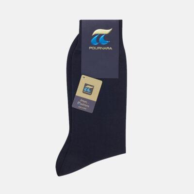 Κλασσική Βαμβακερή Κάλτσα Πουρνάρα 110 Μπλε