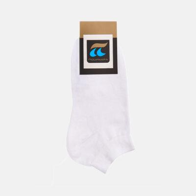Κοντές Κάλτσες Πουρνάρα 780-12 (2 Τεμάχια) Λευκό