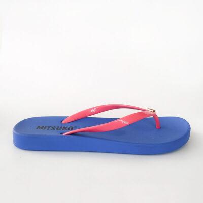 Σαγιονάρα Παραλίας Mitsuko SA64345W Μπλε