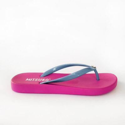 Σαγιονάρα Παραλίας Mitsuko SA64345W Ροζ