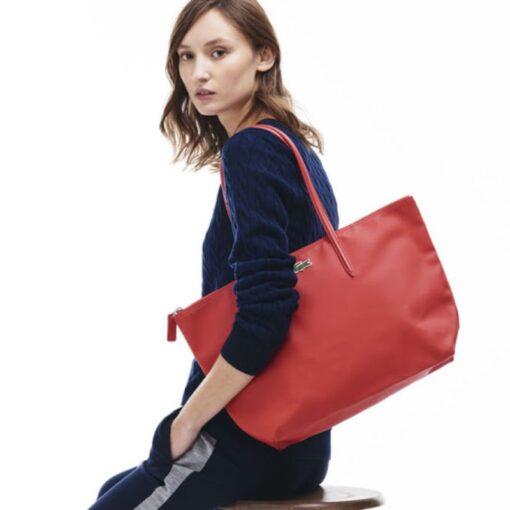 Τσάντα Ώμου Lacoste L.12.12 Tote Bag NF1888PO-883 Κόκκινο