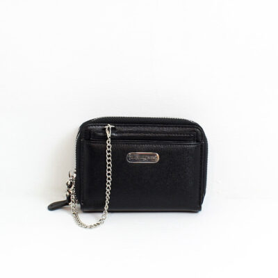 Leather Wallet Cyprus Black