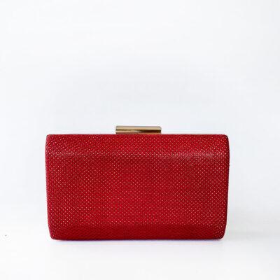 Βραδινό Τσαντάκι Bag To Bag YX8127 Κόκκινο