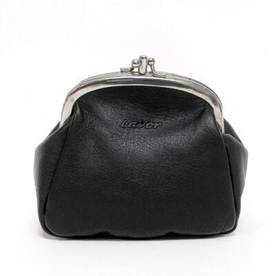 Δερμάτινο Πορτοφόλι Πουγκί Lavor 1-5810 Μαύρο