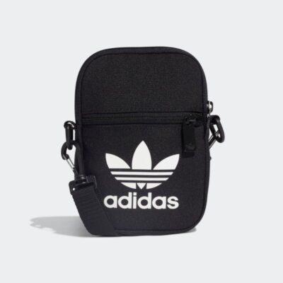 Τσαντάκι Χιαστί Adidas Trefoil Festival Bag EI7411 Μαύρο