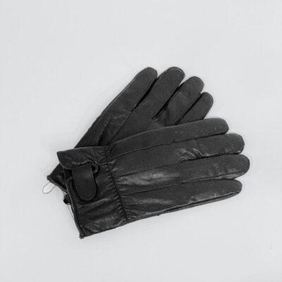 Δερμάτινα Γάντια Pierre Gardin 0410 Μαύρο