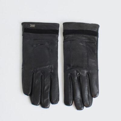 Δερμάτινα Γάντια Pierre Gardin G344 Μαύρο