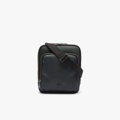 Τσαντάκι Χιαστί Classic Zippered Pocket Rectangular Μαύρο