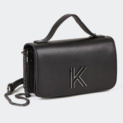 Τσαντάκι Χιαστί Kendall+Kylie Luna 0526 Μαύρο