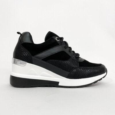 Sneaker Με Πλατφόρμα Jenny 1129 Μαύρο