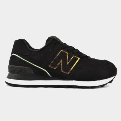 Sneaker New Balance 574 Classics WL574CLG Μαύρο