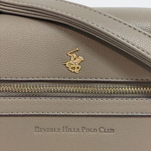 Τσάντα Ώμου Beverly Hills Polo Club 2234 Μπεζ