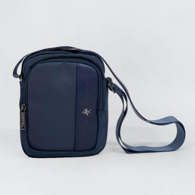 Τσαντάκι Χιαστί Beverly Hills Polo Club 1371 Μπλε