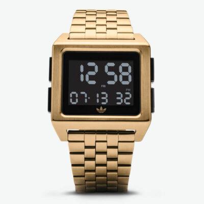 Ψηφιακό Ρολόι Adidas Archive M1 Z01 Χρυσό