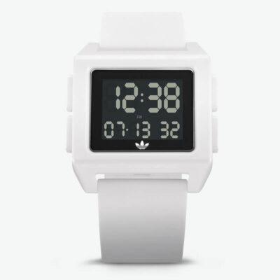 Ψηφιακό Ρολόι Adidas Archive SP1 Λευκό
