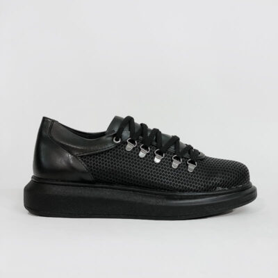 Casual Sneaker Με Χοντρή Σόλα CH021 Μαύρο