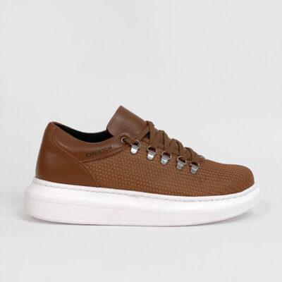 Casual Sneaker Με Χοντρή Σόλα CH021 Ταμπά
