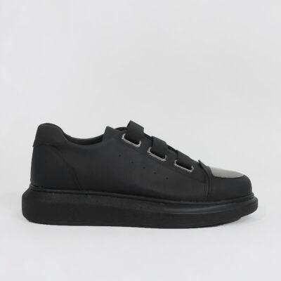 Casual Sneaker Με Χοντρή Σόλα CH251 Μαύρο