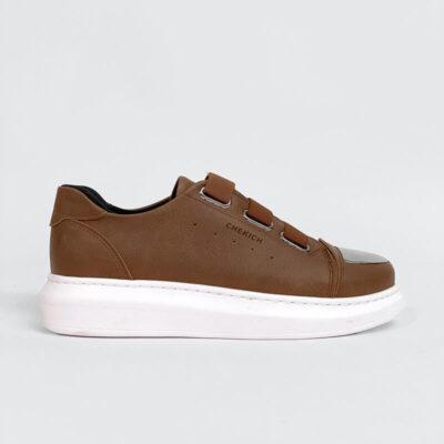 Casual Sneaker Με Χοντρή Σόλα CH251 Ταμπά