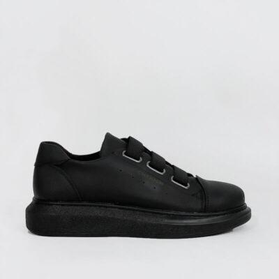 Casual Sneaker Με Χοντρή Σόλα CH253 Μαύρο