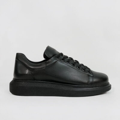 Casual Sneaker Με Χοντρή Σόλα CH257 Μαύρο