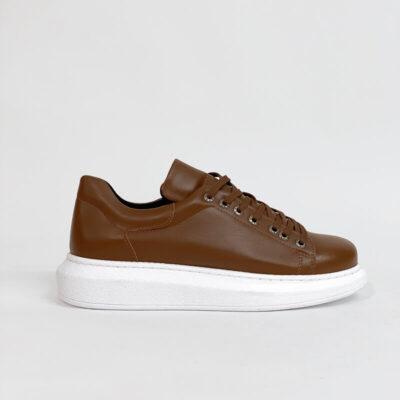 Casual Sneaker Με Χοντρή Σόλα CH257 Ταμπά
