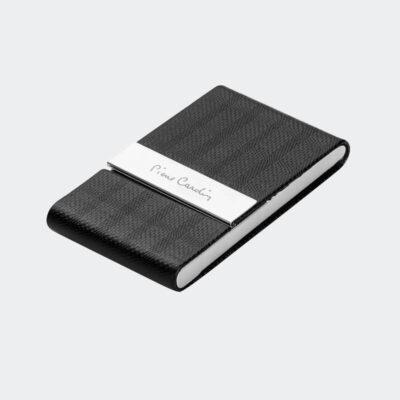 Καρτοθήκη Πολυτελείας Pierre Gardin PCN006 Μαύρο