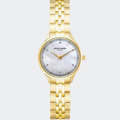 Ρολόι Pierre Cardin La Gloire Nouvelle Crystals Χρυσό