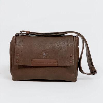 Τσάντα Ώμου Beverly Hills Polo Club 2264 Καφέ