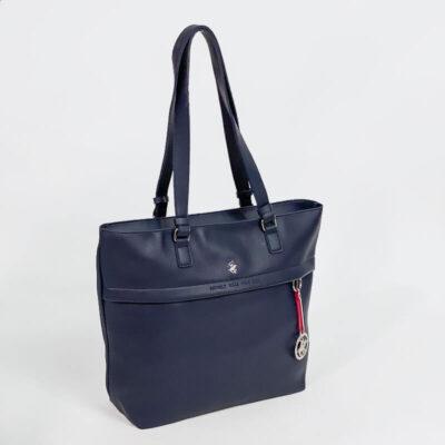 Τσάντα Ώμου Beverly Hills Polo Club 2301 Μπλε