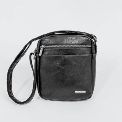 Ανδρικό Τσαντάκι Χιαστί Bag to Bag 58743 Μαύρο