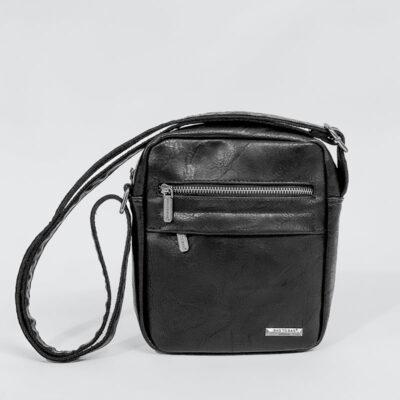 Ανδρικό Τσαντάκι Χιαστί Bag to Bag 58744 Μαύρο