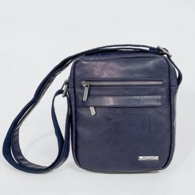 Ανδρικό Τσαντάκι Χιαστί Bag to Bag L888 Μπλε
