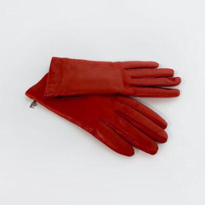 Δερμάτινα Γάντια Pierre Cardin 103 Κόκκινο