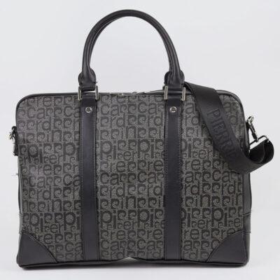 Δερμάτινη Επαγγελματική Τσάντα Pierre Cardin 14786 Μαύρο