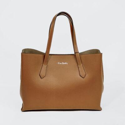Δερμάτινη Τσάντα Ώμου Pierre Cardin 1795 FRZ Pegacy Ταμπά