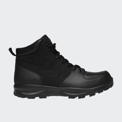 Δερμάτινο Μποτάκι Nike Manoa 456975-001 Μαύρο