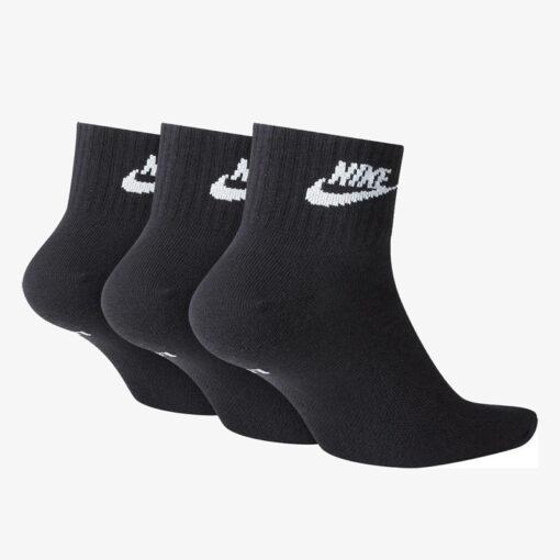 Κάλτσες Nike Essential 3 ζεύγη SK0110-010 Μαύρο (2)