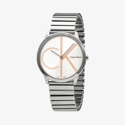 Unisex Ρολόι Calvin Klein K3M21BZ6 Ασημί