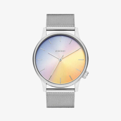 Ανδρικό Αναλογικό Ρολόι Komono W3019 Ασημί