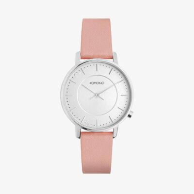 Γυναικείο Αναλογικό Ρολόι Komono W2762 Ασημί Ροζ
