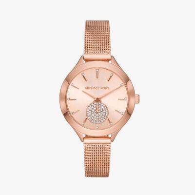 Γυναικείο Ρολόι Michael Kors MK3921 Ροζ Χρυσό