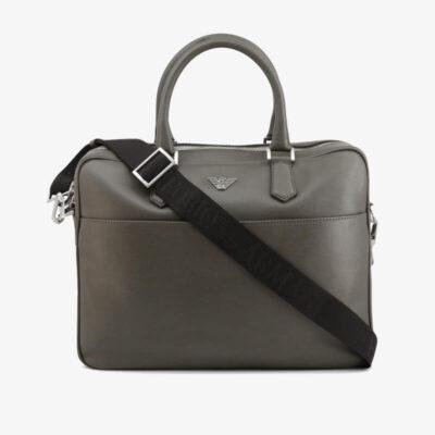 Επαγγελματική Τσάντα Emporio Armani Y4P082-YAQ2E_80155 Γκρι