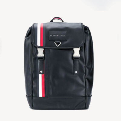 Σακίδιο Πλάτης Tommy Hilfiger Th Metropolitan AM0AM06241-BDS Μαύρο