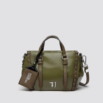Τσάντα Χειρός Trussardi Portulaca 75B00538-99G260 Πράσινο