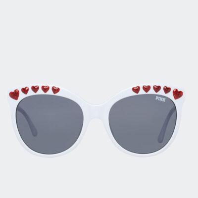 Γυαλιά Ηλίου Victoria's Secret PK0009 25A Άσπρο Γκρι