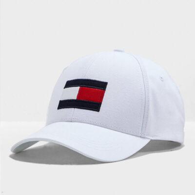 Καπέλο Tommy Hilfiger AM0AM04508-YBR Άσπρο